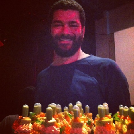 FoodCrawl Mars 2012 - Cupcakes au saumon fumé de Loukoum cupcake