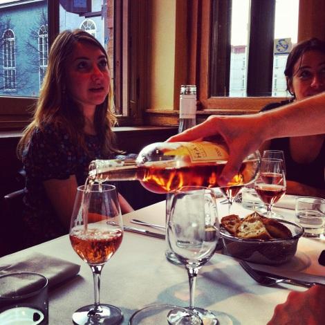 FoodCrawl mars 2012 | Le Clocher Penché | Premier rosé de l'année