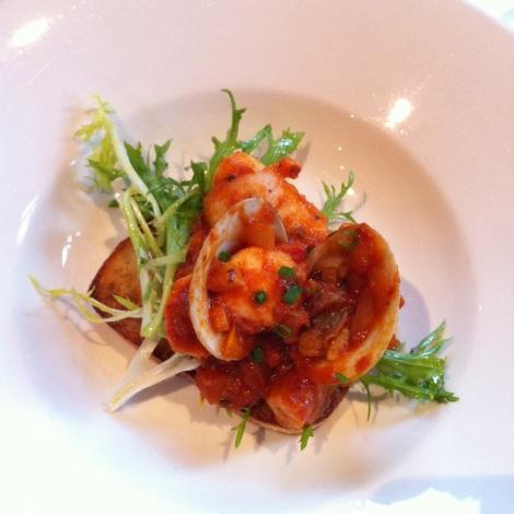 FoodCrawl mars 2012 | Le Clocher Penché | Mijoté de poulpe, calmar et moules