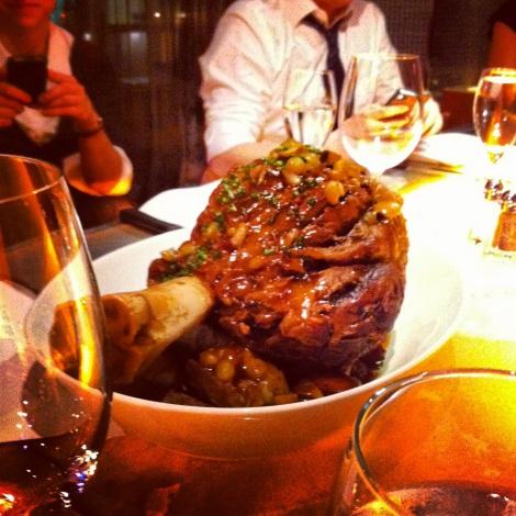 FoodCrawl mars 2012 | Le Versa | Jarret de boeuf Obélix braisé 12h