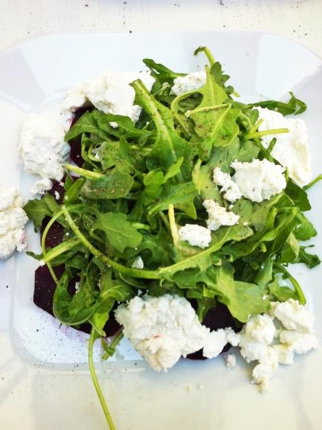 Wish - Salade betteraves et fromage de chèvre