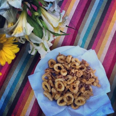 Calmars frits - Recette du Cuisinier Rebelle