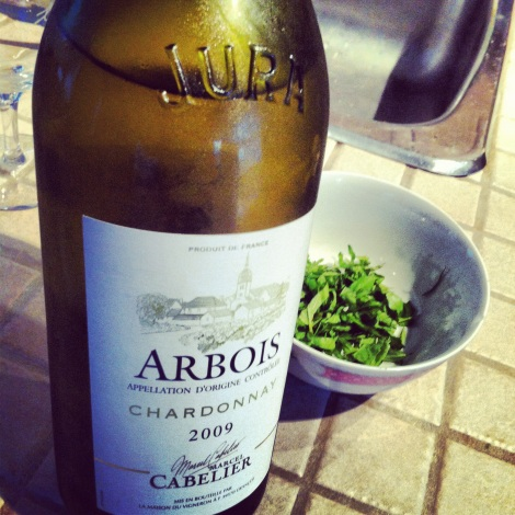 Et tomber en amour quasi obsessionnel avec les Chardonnay du Jura!