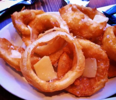 Les fameux onion rings