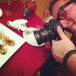 Photographe à l'oeuvre