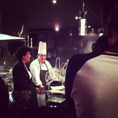 Marie-Chantal Lepage lors de l'ouverture de l'Espace MC Chef
