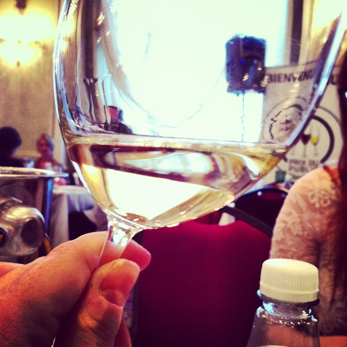 Les vins - pas tous mémorables, mais ça aiguise le jugement...