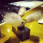 Barbapapa à l'érable au foie gras caramélisé