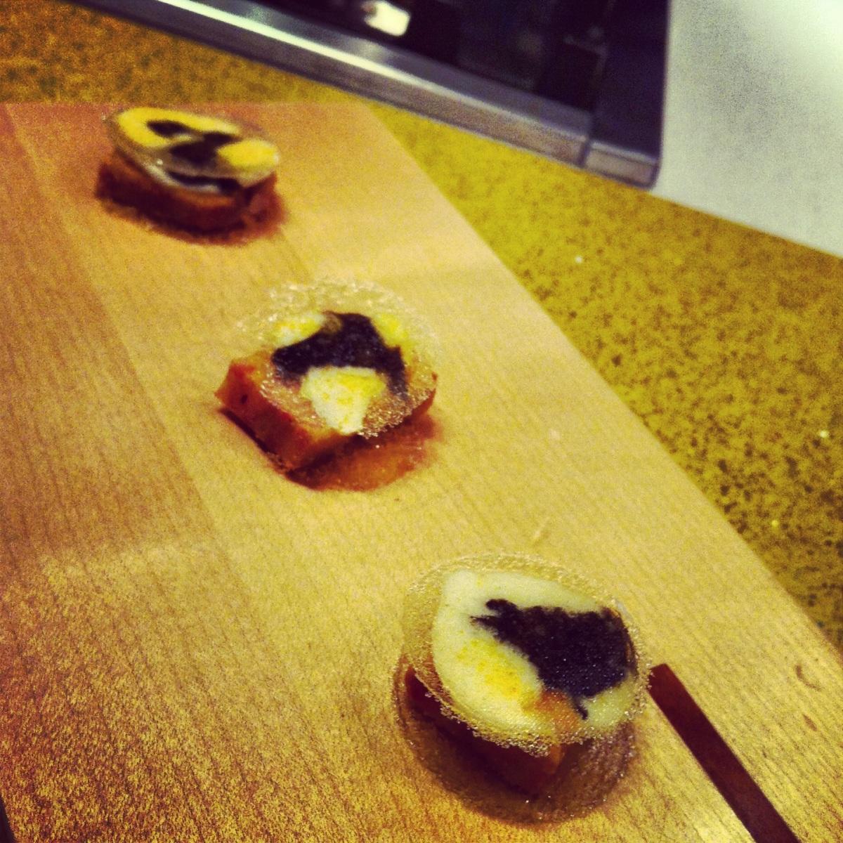 Foie gras aux arômes du Sauternes