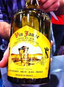 Le vin jaune de La QV - si j'avais à ne choisir qu'un seul vin à boire pour la fin de mes jours, ce serait celui-là!