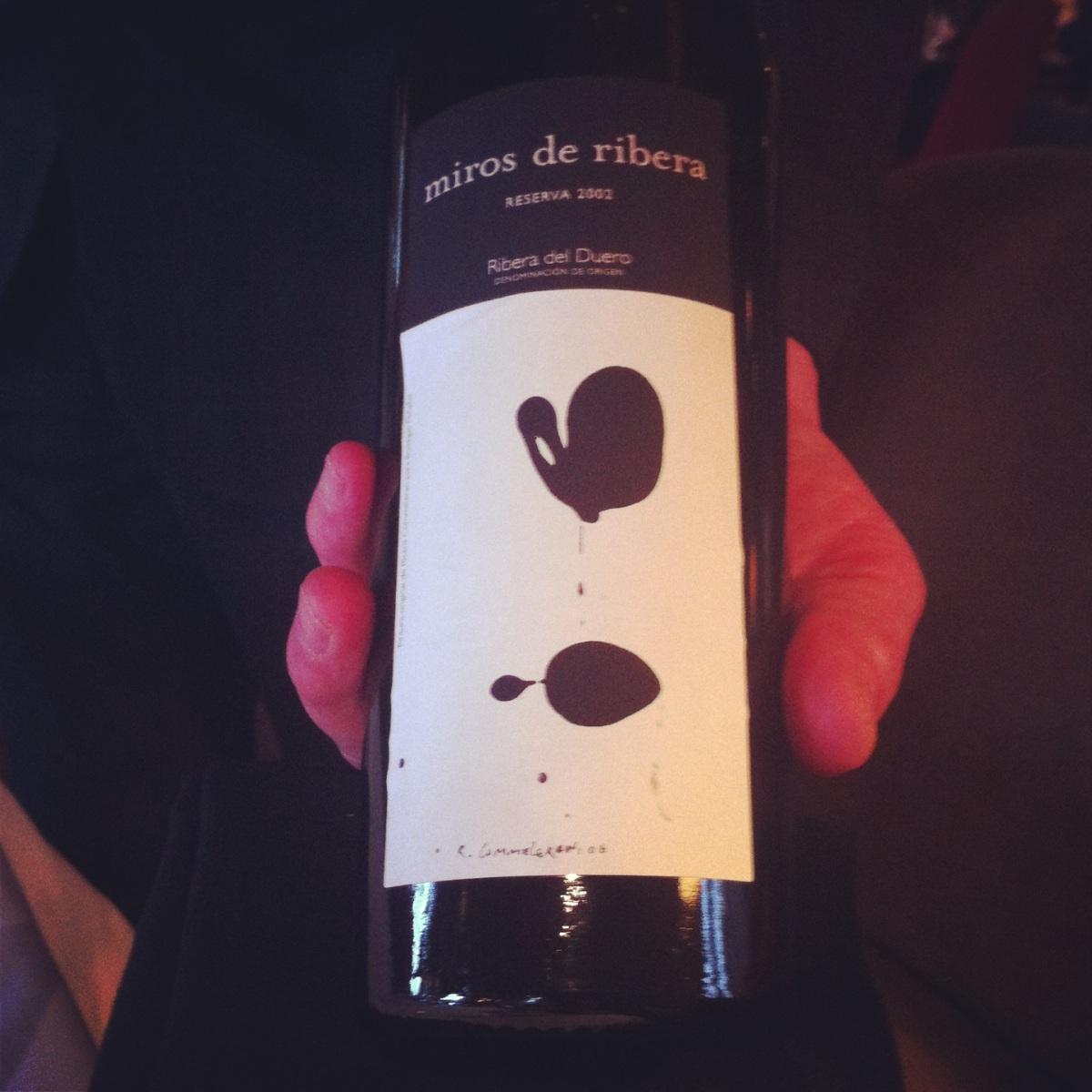 Miros de Ribera - meilleur vin à ce jour!