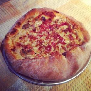 La meilleure (et la plus belle!) pâte à pizza au monde!