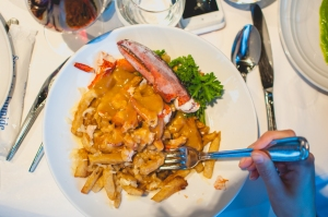 Poutine au homard | PHOTO: www.dezjeff.com