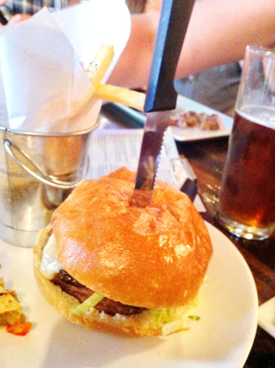 Burger et frites