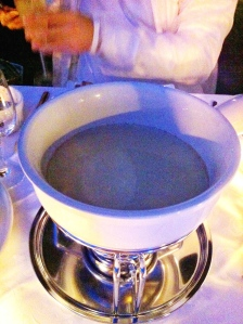 Ma fondue au fromage, l'excellente Charlevoisienne!