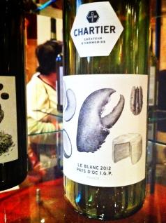 Le Blanc Pays d'Oc 2012 de Chartier