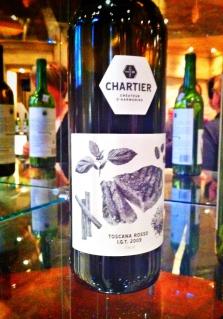 Le Toscana Rosso 2009 de Chartier