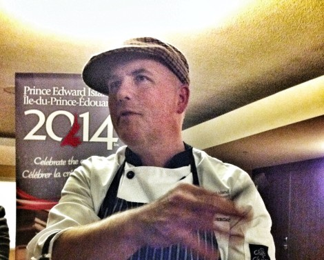 Chef Robert Pendergast