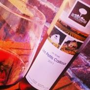 Le rosé du vignoble Les petits cailloux