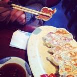 Dumplings frits