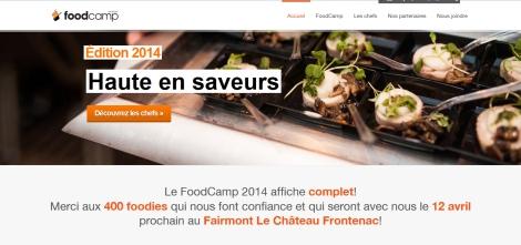 FoodCamp de Québec