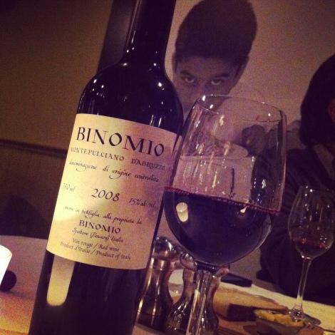 Il Matto - Le Binomio, un vin qui goûte le ciel!