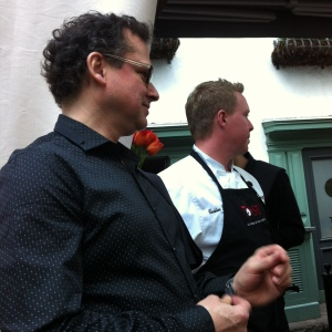 Le sommelier Stéphane D'Anjou et le chef Christian Lemelin, propriétaires du Toast! (et aussi du SSS et du Pur Sang)