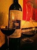Excellents choix de vins tout au long du repas!