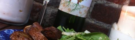Saumon BBQ aux noisettes sur planche de cèdre