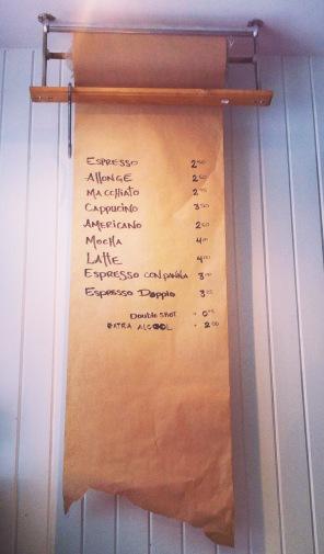 Un menu pas comme les autres