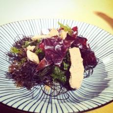 La salade d'algues d'Aaron Langille - le résultat est magnifique