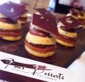 La bouchée de Fou Dessert combine citron au chocolat - une harmonie surprenante