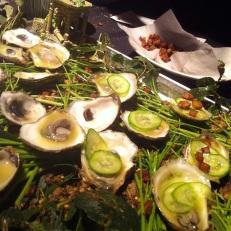 Et des huîtres!