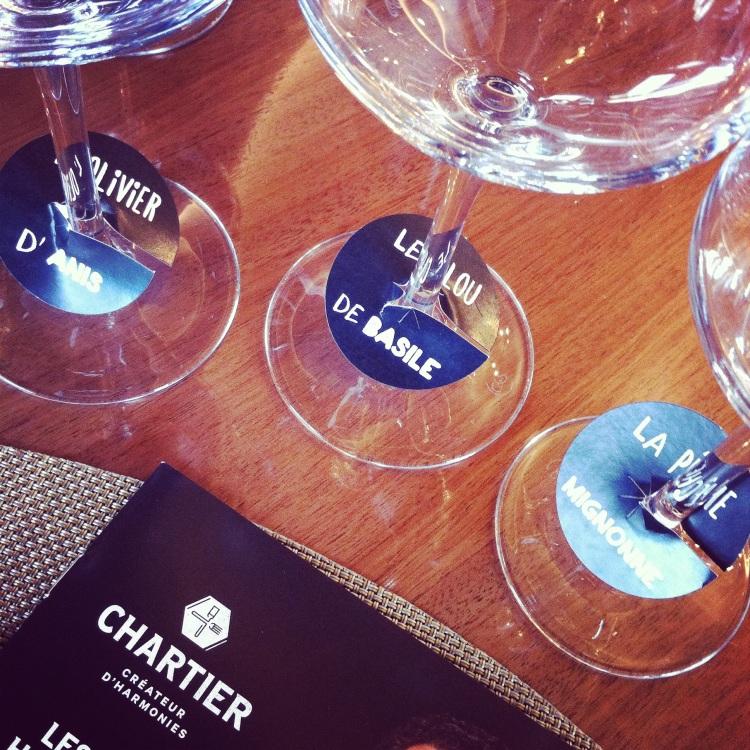 Les Vins Harmonie de François Chartier