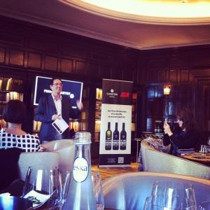 François Chartier nous présente ses vins harmonies