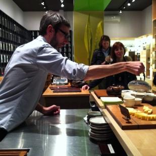 Arrêt chez Camellia Sinensis pour un accord thés & fromage