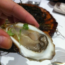 Moi, j'adore les huîtres!
