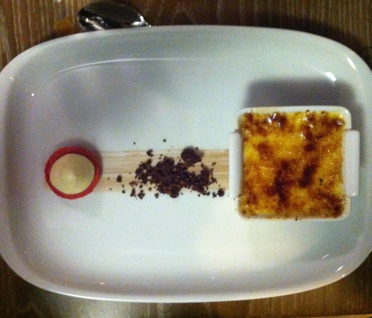 La crème brûlée bacon et érable