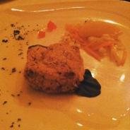 Fondue aux deux fromages de l'Isle-aux-Grues Canotier et Vieux Cheddar
