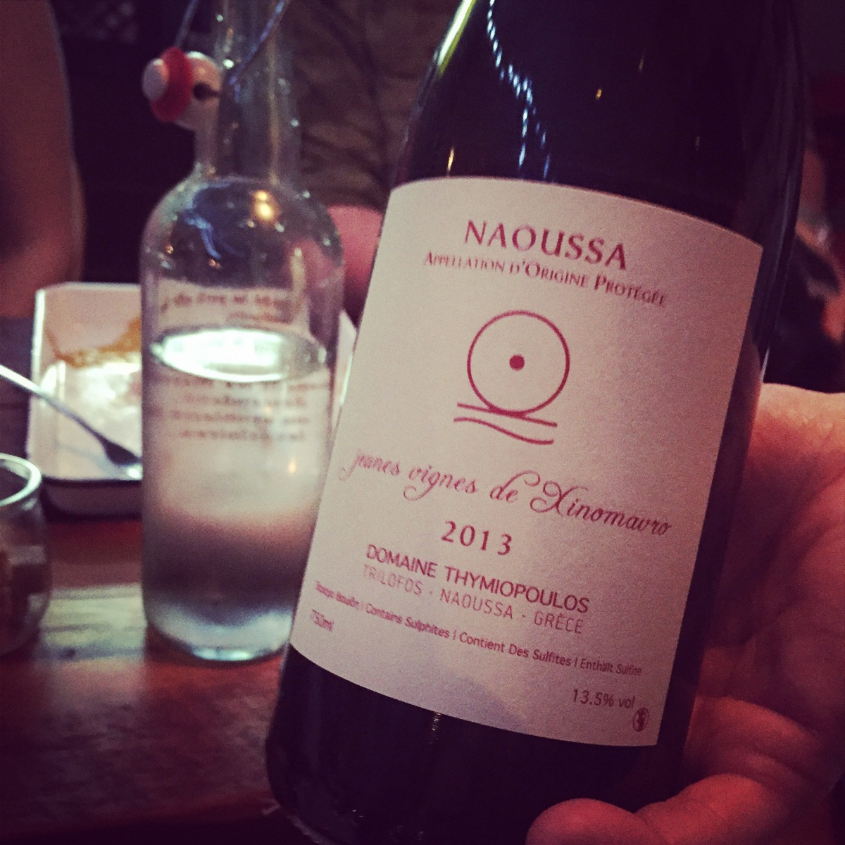 Domaine Thymiopoulos Jeunes Vignes de Xinomavro Naoussa 2013