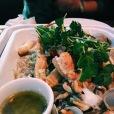 Le cassouleut de la mer, avec les délicieuses saucisses de crevettes