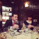 Pascal Chantonnet en compagnie de la blogueuse Héloïse Leclerc