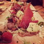 Flanc de porc, légumes marinés - magnifique!