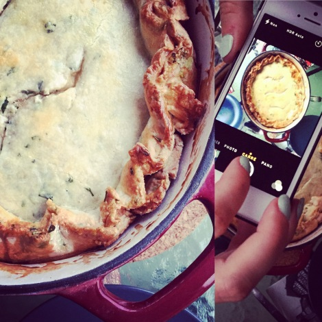 Le magnifique et savoureux pot-en-pot madelinot de Julie-Maude!