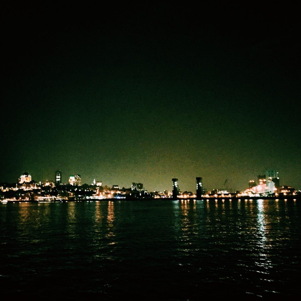 Panorama scintillant.