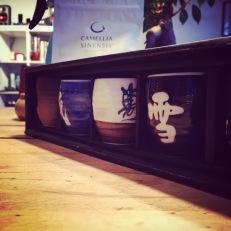 Gobelets pour le thé (ou le saké!)
