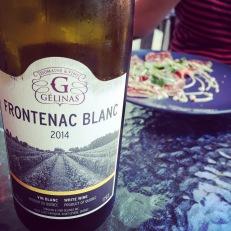 Le Frontenac blanc du Domaine &Vins Gélinas