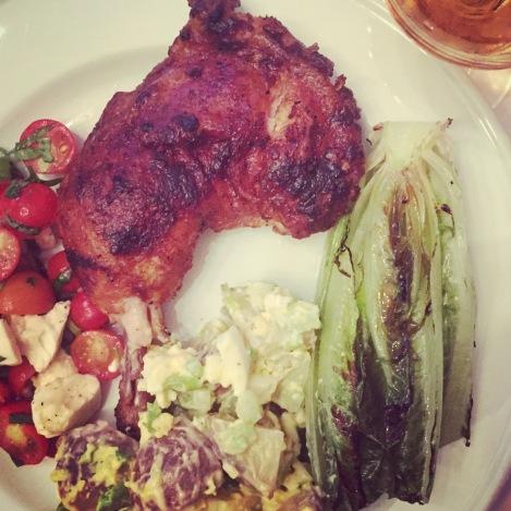 La classique cuisse de poulet BBQ