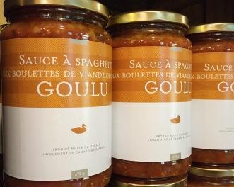 La sauce à spaghetti du Canard Goulu