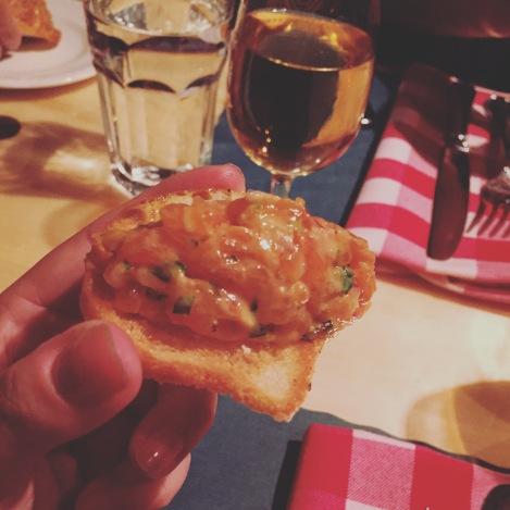 La bouchée de tartare de saumon qui a défié tous mes préjugés!